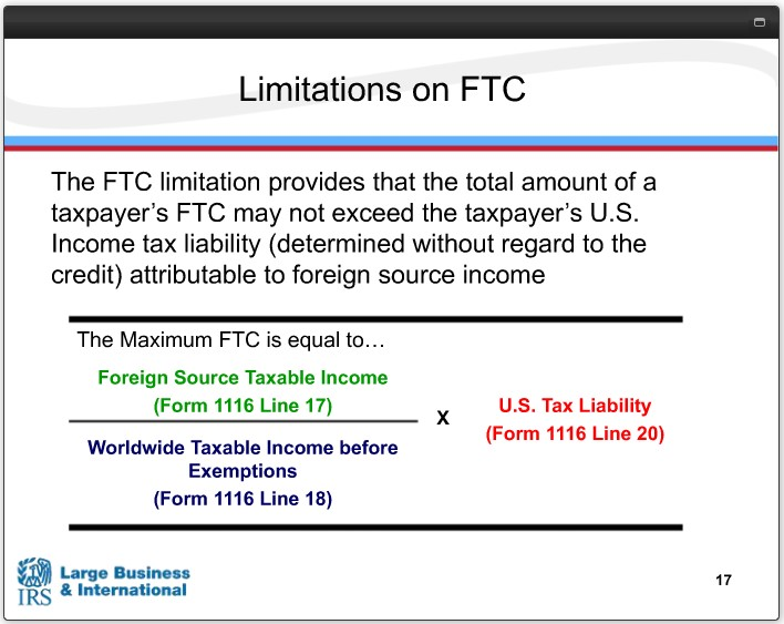 Overseas Filing For Us Taxpayers Foreign Tax Credit Fas Cpa