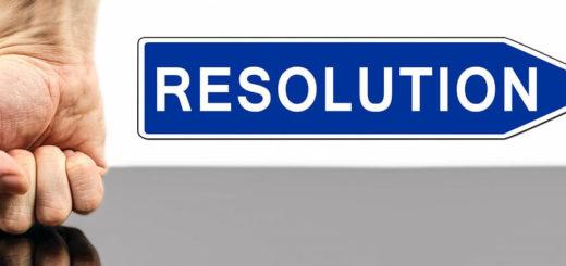 Problem resolution sign